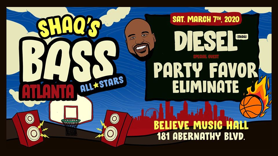 Bass All Stars: Diesel w/ Party Favor & Eliminate | IRIS at Believe | Sat Mar 7
